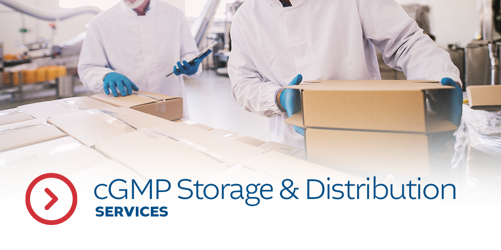 cGMP Storage & Distribution Services