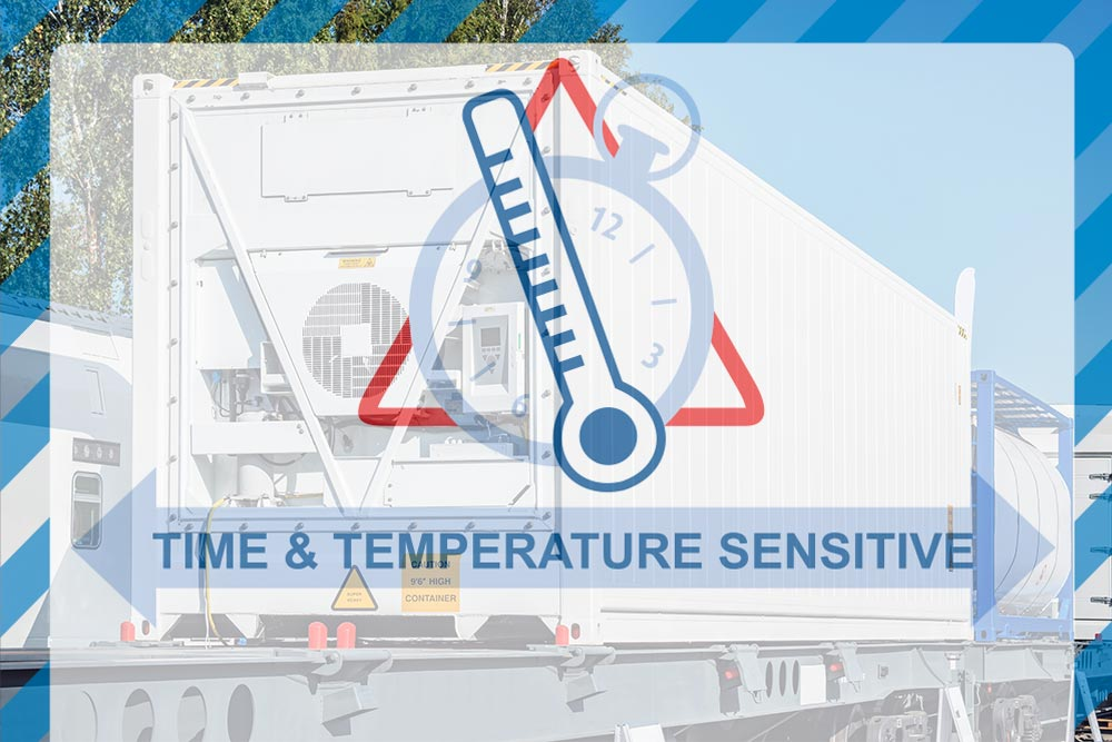 Time and Temperature Sensitive Trucking